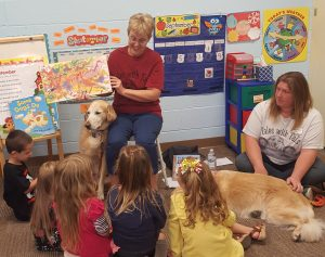 Therapy Dogs visit JCS PK