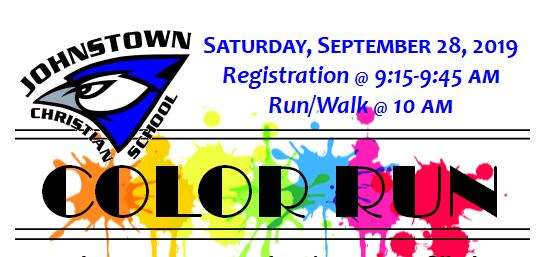 Color Run Logo 2019