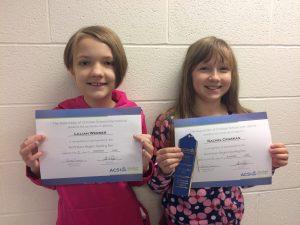 ACSI Spelling Bee - Grade 5