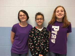 JCS 6th Grade Speech Meet Winners 2019