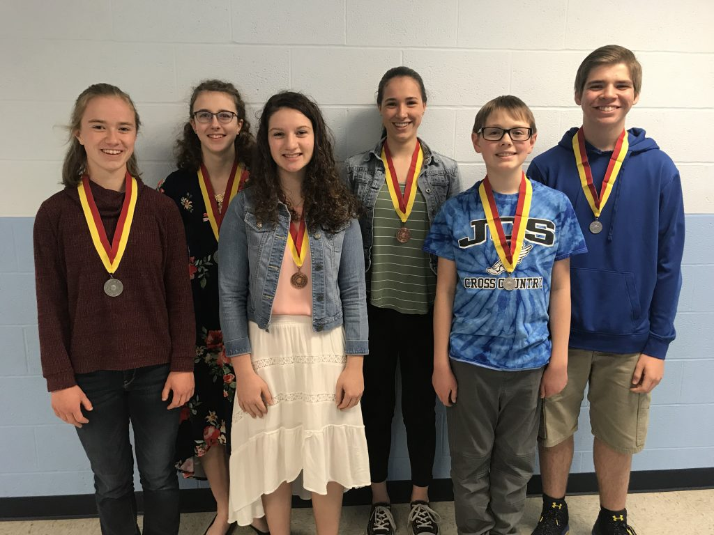 2019 National Spanish Exam Winners